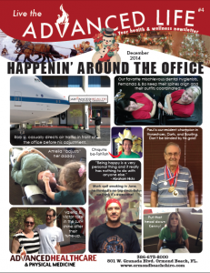 Live the Advanced Life December 2014 Newsletter