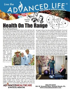 Live the Advanced Life January 2015 Newsletter